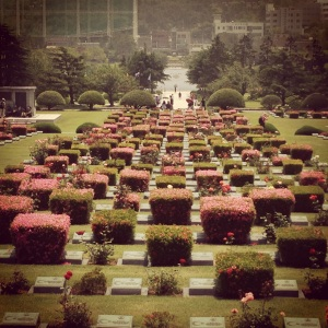 UN Memorial Cemetery, Busan South Korea